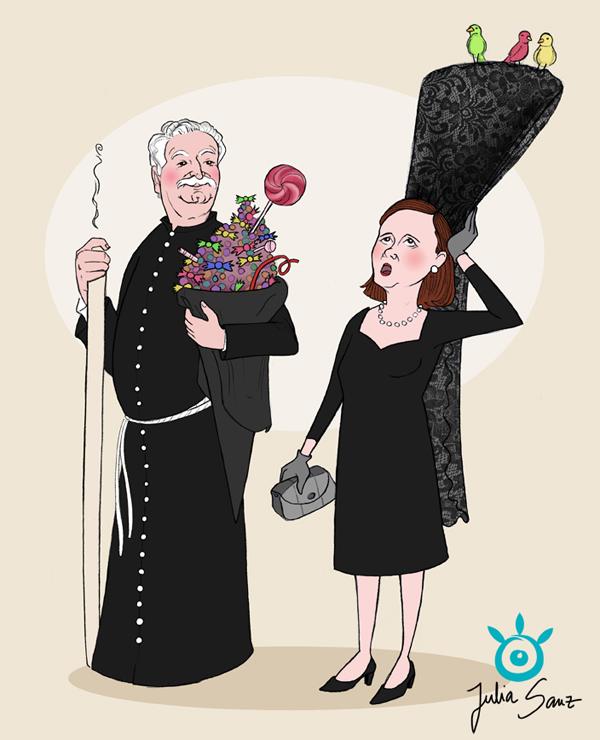Joaquin&aAmelia_Caricature